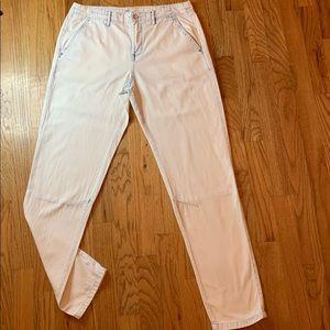 Free People Light Wash Boyfriend Jeans
